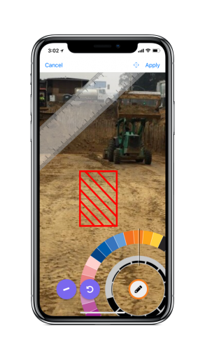 iPhone X annotate-photos